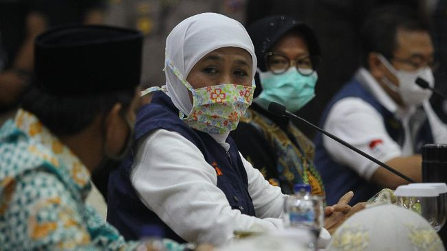 Ketua Riset Corona Minta Risma dan Khofifah Sudahi