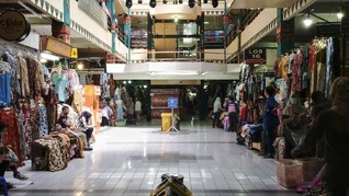 Pasar Beringharjo Sepi, Pedagang Gencar Jualan Online