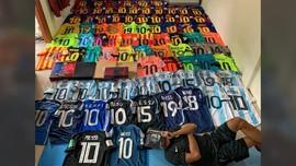 Surya Wijaya, Kolektor Ratusan Jersey Messi yang Mendunia