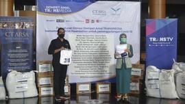 Transmedia-CT ARSA Salurkan Donasi ke-3 untuk Lawan Covid-19