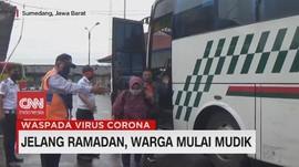 VIDEO: Jelang Ramadan Warga Mulai Mudik