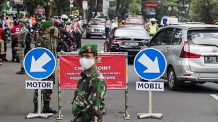 AKB Bandung Diperketat, 5 Jalan Terapkan Sistem Buka-Tutup