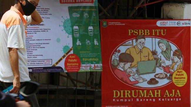 Keputusan memperpanjang PSBB Banten selama satu bulan lantaran kasus positif Covid-19 masih terus bertambah dari hari ke hari.