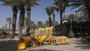 Resor di Laut Merah Lumpuh Akibat Lockdown Israel