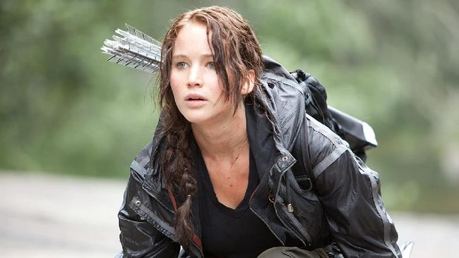 Salah satu adegan film The Hunger Games.