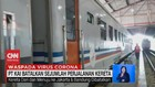 VIDEO: PT. KAI Batalkan Sejumlah Perjalanan Kereta