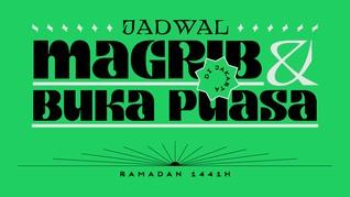 INFOGRAFIS: Jadwal Buka Puasa Ramadan 2020 di DKI Jakarta