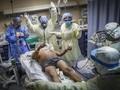 FOTO: Mimpi Buruk Tim Medis di Pusaran Corona