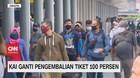 VIDEO: KAI Ganti Pengembalian Tiket 100%
