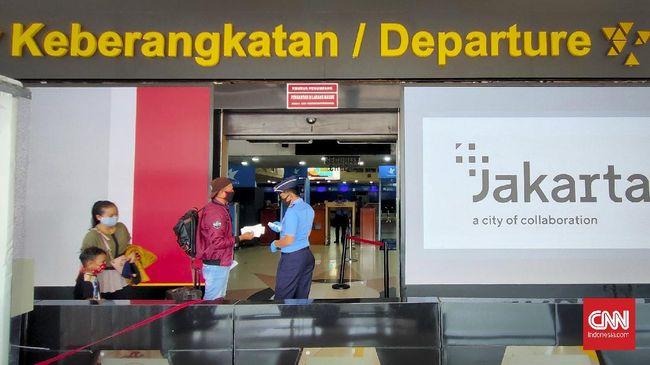 Suasana bandara halim perdana kusuma, Jakarta, Jumat, 24 April 2020. Mulai Hari ini tidak Ada penerbangan terkait pelarangan mudik.