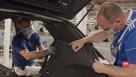 VIDEO: Pabrik VW Beroperasi Kembali Demi Mobil Listrik