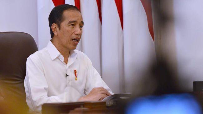 Presiden Joko Widodo menunda pembahasan RUU Omnibus Law Ciptaker, Jumat (24/4).