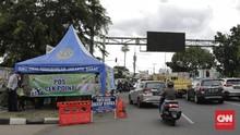 PSBB Transisi DKI, Polisi Tetap Operasikan 67 Pos Pemeriksaan