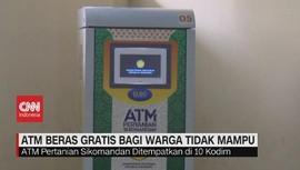 VIDEO: ATM Beras Gratis Bagi Warga Tidak Mampu