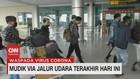 VIDEO: Mudik Via Jalur Udara Terakhir Hari Ini