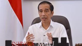 Jokowi: PSBB Harus Punya Target Terukur