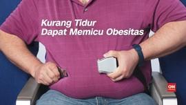 VIDEO: Kurang Tidur Dapat Memicu Obesitas