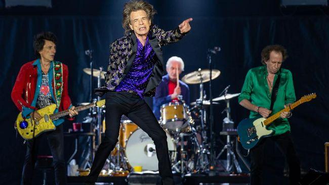 Tur The Rolling Stones di Amerika Serikat bertajuk No Filter akan berlangsung September hingga November 2021.