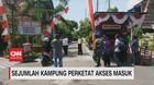 VIDEO: Sejumlah Kampung Perketat Akses Masuk