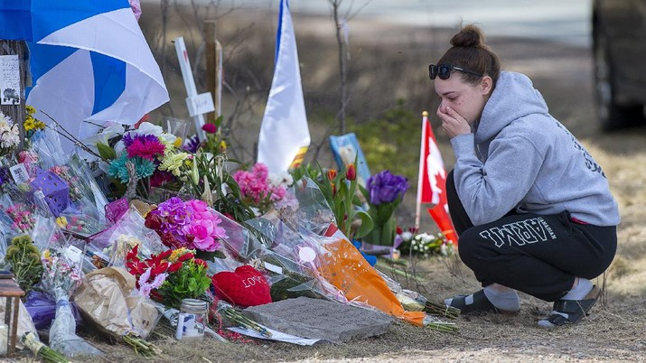 Penembakan Massal di Kanada. AP/Tim Krochak