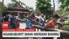 VIDEO: Ngabuburit Main Meriam Bambu