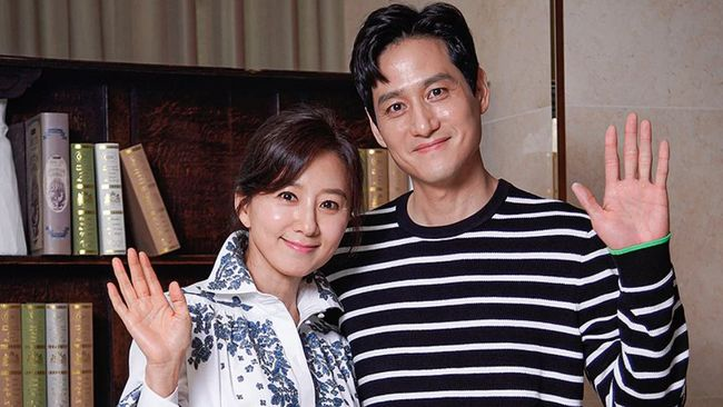 Kim Hee-ae dan Park Hae-joon The World of the Married