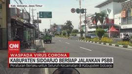 VIDEO: Kabupaten Sidoarjo Jalankan PSBB Mulai 28 April