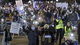 Ribuan Warga Israel Demo Rencana Pencaplokan Tepi Barat