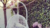 Angie 'Virgin' kerap mengunggah beberapa foto interior rumahnya. Kali ini Angie mengunggah tamanyang berada di rumahnya di London, Inggris. (Foto: Instagram @angie_virgin)