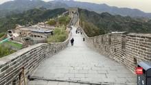 Dua Turis Masuk Daftar Hitam Dilarang Wisata ke Tembok China
