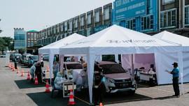 Hyundai Bantu Ridwan Kamil Gelar Drive Thru Tes Covid-19