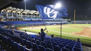FOTO: Liga Baseball Taiwan Bergulir di Masa Pandemi Corona