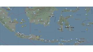 Pantauan Lalu Lintas Udara RI H+2 Lebaran via Aplikasi