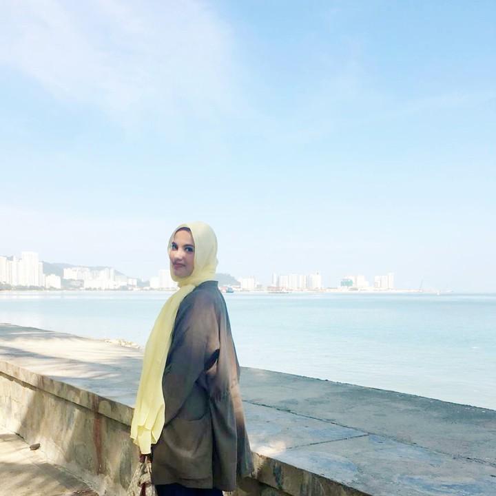 Cantiknya anak perempuan Quraish Shihab