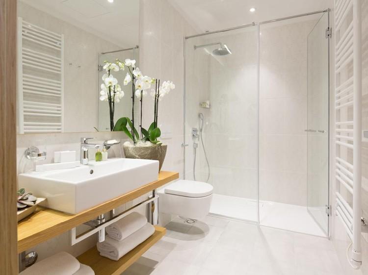Interior of a haotel bathroom