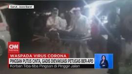 VIDEO: Pingsan Putus Cinta, Gadis Dievakuasi Petugas Ber-APD