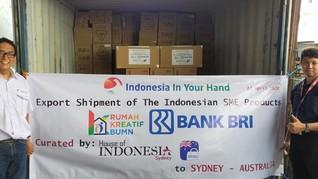 Agar Naik Kelas, BRI Dorong Ekspor Produk UMKM ke Australia