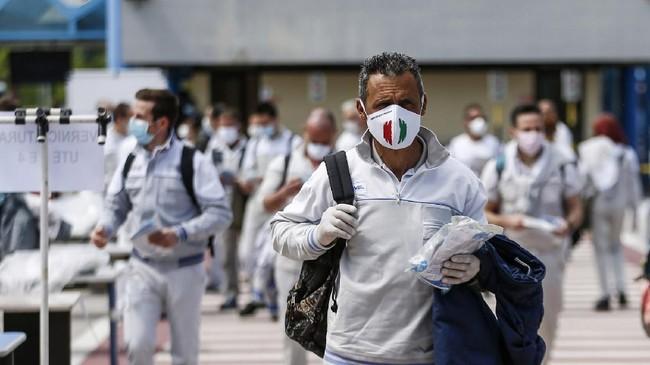 Italia: Dari Negara Pusat Covid-19 hingga Hapus Wajib Masker