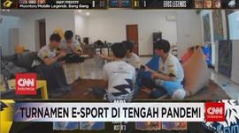 VIDEO: Turnamen E-sport di Tengah Pandemi Covid-19