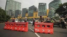 Jelang Akhir PSBB, Akses Perbatasan Surabaya-Sidoarjo Ditutup