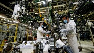 Corona, Utilitas Sebagian Industri Merosot ke Bawah 50 Persen