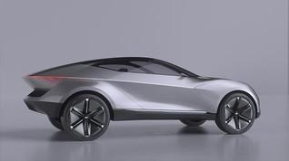 Desain Mobil Terinspirasi UFO, Atapnya Tiru Piring Terbang