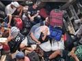 Polisi Asahan Amankan 72 TKI Ilegal dari Malaysia di Sungai
