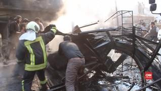 VIDEO: Serangan Bom di Suriah Tewaskan 36 Orang