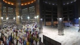 FOTO: Ramadan Sunyi di Istiqlal Kala Pandemi