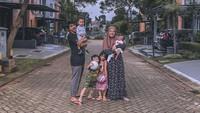Dari pernikahannya dengan Herfiza Novianti, Ricky Harun dikaruniai empat anak, sepasang perempuan dan laki-laki. (Foto: Instagram @rickyharun)