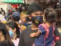VIDEO: Warga Bangkok Berdesakan di Pasar Abaikan Jaga Jarak