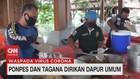 VIDEO: Ponpes & Tagana Dirikan Dapur Umum