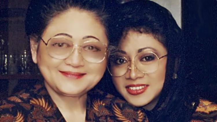 Ibu Tien dan Tutut Soeharto