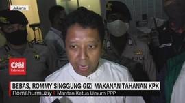 VIDEO: Romahurmuzy Bebas, Singgung Gizi Makanan Tahanan KPK